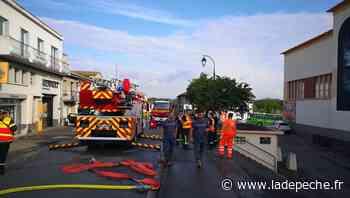 L'incendie d'un garage paralyse Gimont - LaDepeche.fr