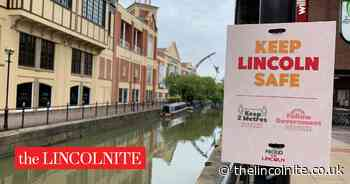 Keep your distance, Lincoln council urges with street messages - The Lincolnite