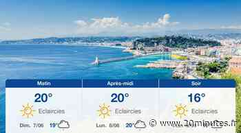 Météo Nice: Prévisions du samedi 6 juin 2020 - 20minutes.fr