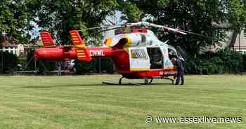 Air ambulance lands in Southend-on-Sea park following 'incident' - Essex Live