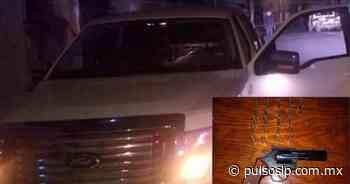 Detienen en Cerritos a tres pistoleros - Pulso de San Luis