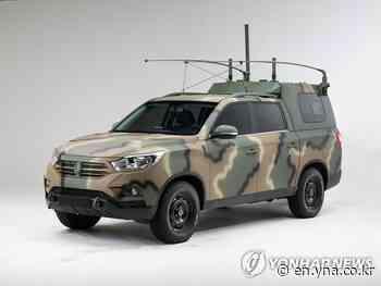 Rexton Sports chosen as Army command car - Yonhap News