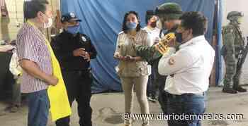 Vigilan en Tepalcingo que se cumplan medidas de higiene para evitar contagios por COVID-19 - Diario de Morelos