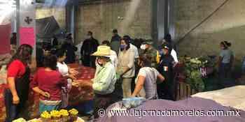 Vigilan autoridades de Morelos cumplimiento de Sana Distancia en Tepalcingo - La Jornada Morelos