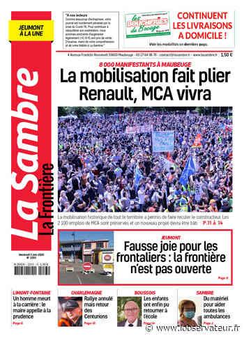 La Sambre (Jeumont) du vendredi 5 juin 2020 - L'Observateur