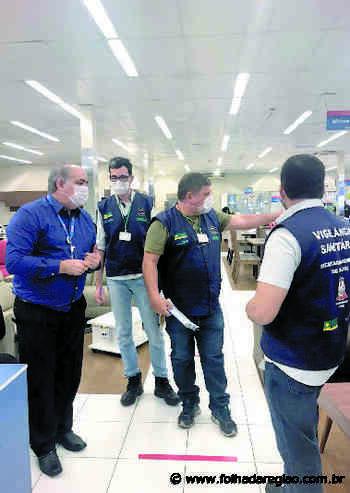 Vigilância Sanitária de Birigui orienta comerciantes sobre o coronavírus - Folha da Região