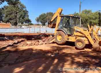 Prefeitura de Arapoti inicia obras para construção da nova Capela Mortuária - Folha Extra