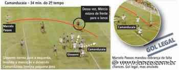 E se... Camanducaia opina sobre como seria o destino dele e do Santos caso gol em 95 fosse validado - LANCE!