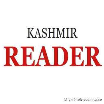 Rain, hail damaged crops, fruits in Khrew , Shar Shali Pampore. - Kashmir Reader