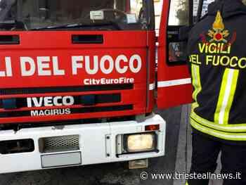 In fiamme capannone industriale di San Giovanni al Natisone - TRIESTEALLNEWS