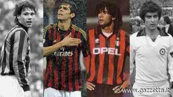 Van Basten o Kakà? Gullit o Rivera? Quarti di finale, VOTA il più grande del Milan