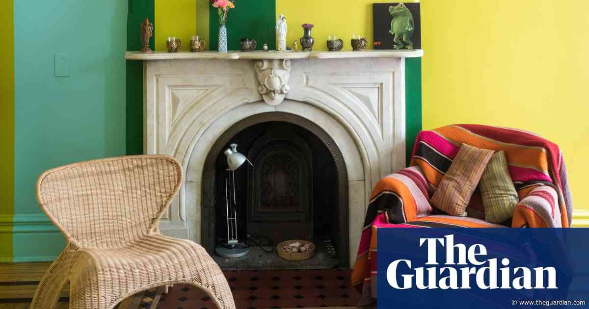 'I like a place that feels haunted': a Brooklyn brownstone filled with stories and art