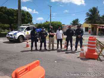 SSPDS acompanha operações de fiscalização do decreto estadual em Itarema e Itapipoca - Ceará
