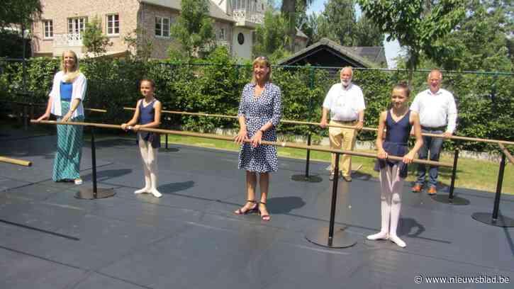 Balletschool An Van Den Broeck doet het nu in openlucht