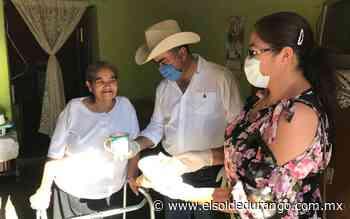 Verifica alcalde entrega de desayunos en Panuco de Coronado - El Sol de Durango