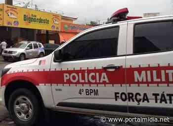 Em Guarabira, suspeito de tentativa de roubo é preso em flagrante por policiais do 4º BPM - Últimas notícias, vídeos, esportes, entretenimento e mais - PortalMidia