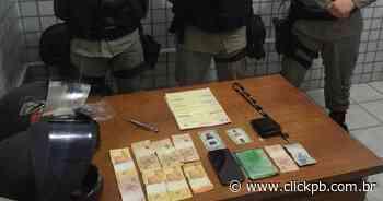 Dupla é presa suspeita de assaltar mercadinho em Guarabira - ClickPB