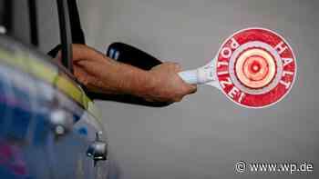 Finnentrop: Rollerfahrer lackiert altes Kennzeichen über - WP News