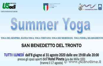 Unione Sportiva Acli, a San Benedetto del Tronto le lezioni gratuite di yoga - picenotime