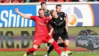 3. Liga: Zwickau und Halle treffen sich zum Abstiegskrimi - MDR