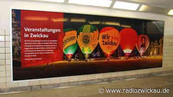 Zwickauer Panoramabilder verschönern Hauptbahnhof - Radio Zwickau