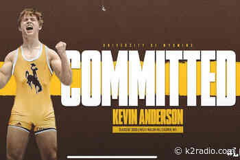 Kelly Walsh Wrestler Kevin Anderson Commits to UW - K2 Radio