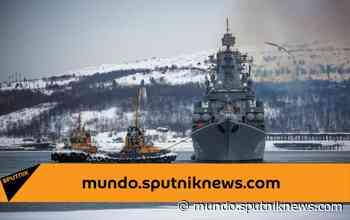La Flota Rusa del Norte vigila a la fragata francesa Aquitania en el mar de Barents - Sputnik Mundo