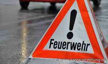 Ursache noch unbekannt: Brand zur Nachmittagszeit bei Mehrfamilienhaus am Rain - Aargauer Zeitung