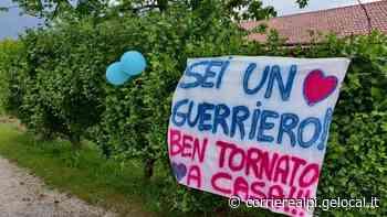Pedavena festeggia il ritorno a casa di Gris: «Ricoverato 112 giorni, ora sono negativo» - il Corriere delle Alpi
