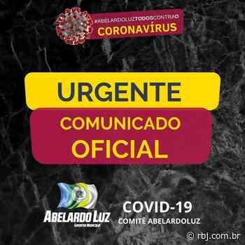 Abelardo Luz confirma primeiro caso de coronavírus - RBJ