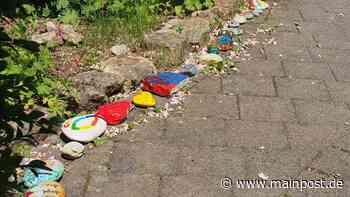 Schmunzelsteine sollen Kinder in Steinfeld aufmuntern - Main-Post