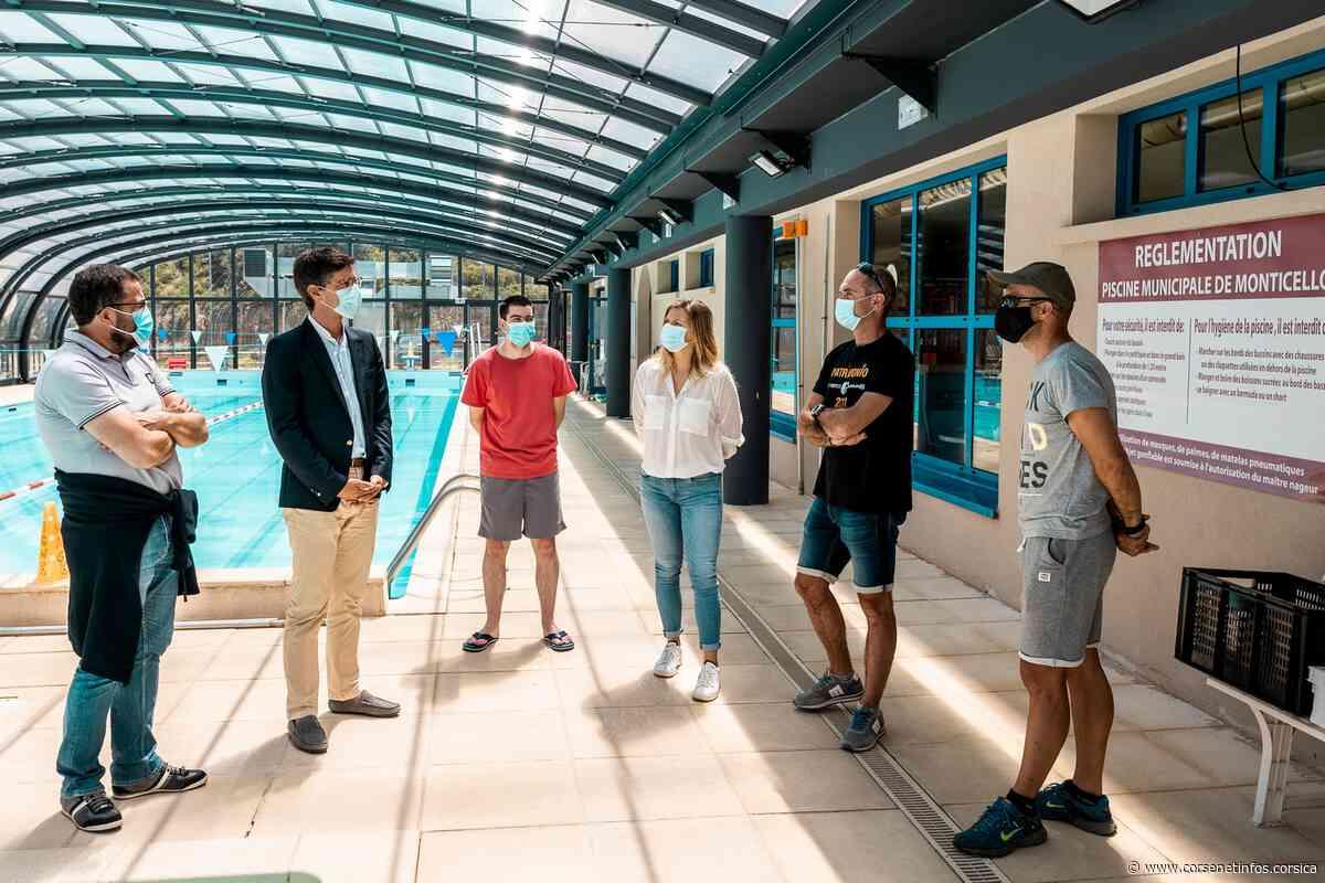 Le sous-préfet de Calvi visite la piscine de Monticello avant sa réouverture lundi - Corse Net Infos