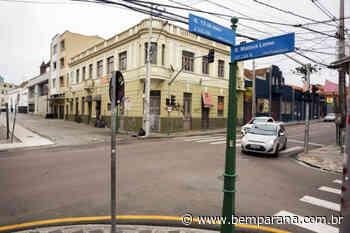 Cruzamento entre ruas Mateus Leme e Treze de Maio passa por obras a partir de sábado - Bem Paraná