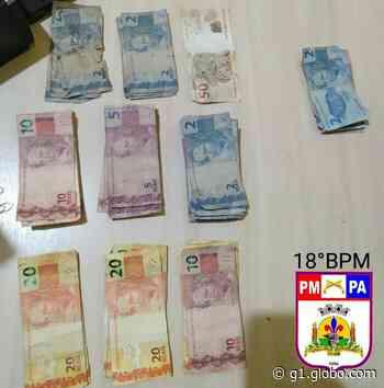 Polícia Militar prende suspeito de roubo em estabelecimento comercial de Monte Alegre - G1