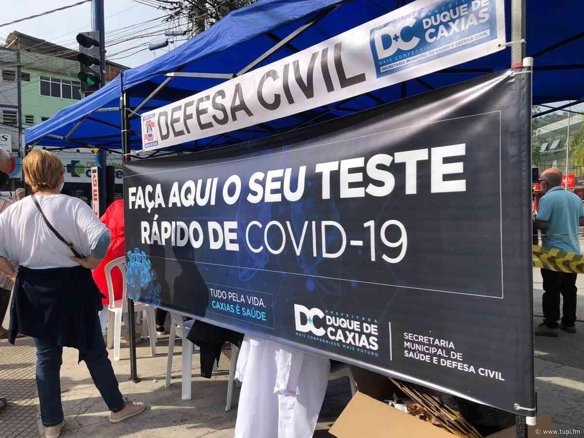 Prefeitura de Caxias faz testagem em massa para combater a Covid-19 neste fim de semana - Super Rádio Tupi