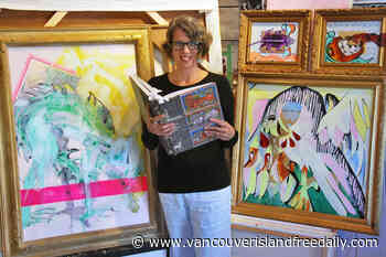 Nanaimo painter inspired by medieval animal illustrations in new exhibition - vancouverislandfreedaily.com