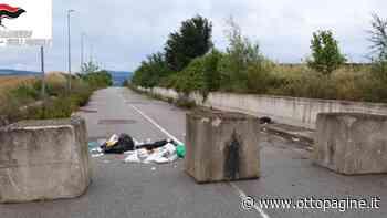Abbandono rifiuti zona Asi, neanche blocchi fermano inciviltà - Ottopagine