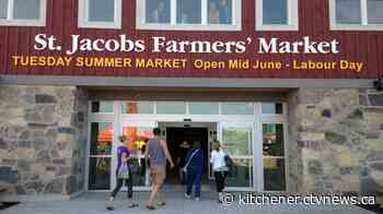 Precautions put in place as part of St. Jacobs Farmers' Market reopens - CTV News