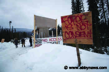 No charges to be laid against 22 northern B.C. pipeline protesters - Abbotsford News