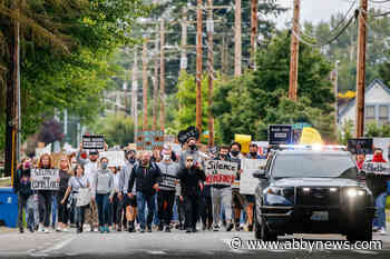 Protests shift to memorializing George Floyd amid push for change - Abbotsford News