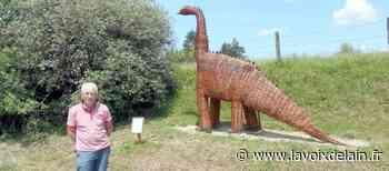 Viriat - Il construit un diplodocus à Curtaringe ! - La Voix de l'Ain