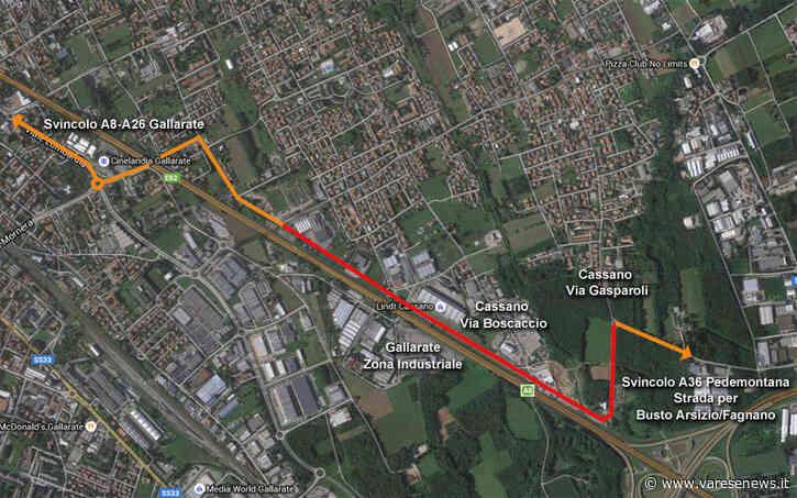 4,3 milioni di euro per la Tangenziale di Cassano Magnago - Varesenews
