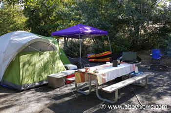 'Just went crazy:' Group gets lots of interest in random camping on public land