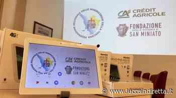 Coronavirus, Crédit Agricole Italia e Fondazione CR di San Miniato donano 300 tablet alle Misericordie della Toscana - Luccaindiretta - LuccaInDiretta