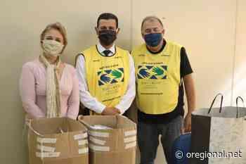 Prefeitura de Artur Nogueira recebe doação de mil máscaras - O Regional