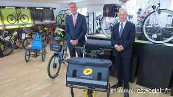 VIDÉOS. Cycleurope à Romilly-sur-Seine, «un grand partenaire de La Poste» - L'Est Eclair