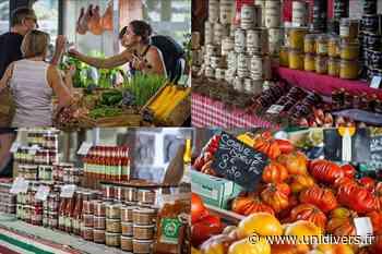 Les jeudis des producteurs et artisans locaux Saint-Jean-Pied-de-Port 28 mai 2020 - Unidivers