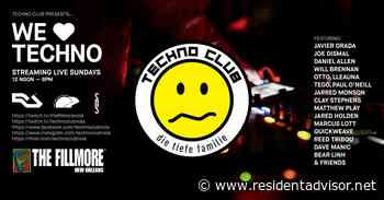 Techno Club & The Fillmore present We Love Techno - Resident Advisor