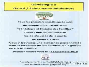 Généalogie à St Jean Pied de Port Saint-Jean-Pied-de-Port 4 août 2020 - Unidivers