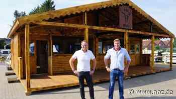 So entsteht ein bayrischer Biergarten mitten auf dem Hümmling - noz.de - Neue Osnabrücker Zeitung